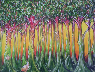 Reggae Forest by Alhoide