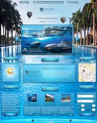 Hotel  Website by achraf-elkaami