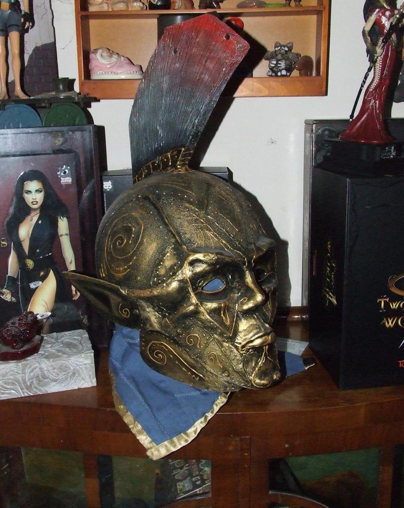 Morrowind Ordinator mask. by JEMdark