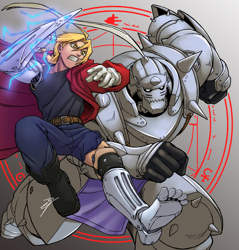 Full Metal Alchemist by ejslayer
