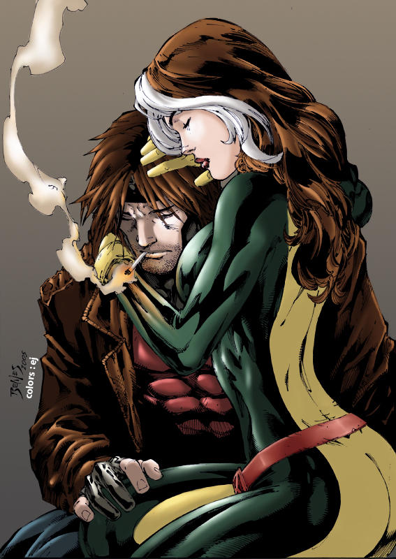 wolverine and rogue relationship