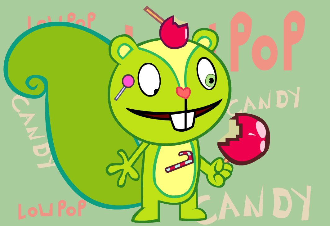 Nutty Wallpaper by the-candy-wolf on DeviantArt Happy Tree Friends Wallpaper Nutty