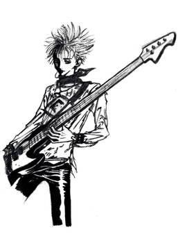 Shin on Bass
