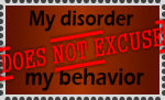 My Disorder stamp by 2138