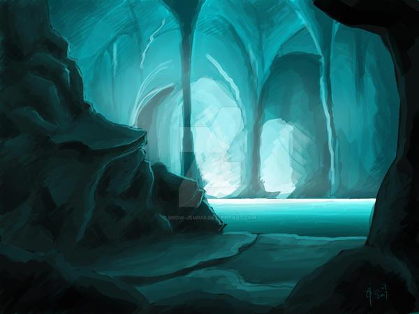 Caverns by snow-jemima