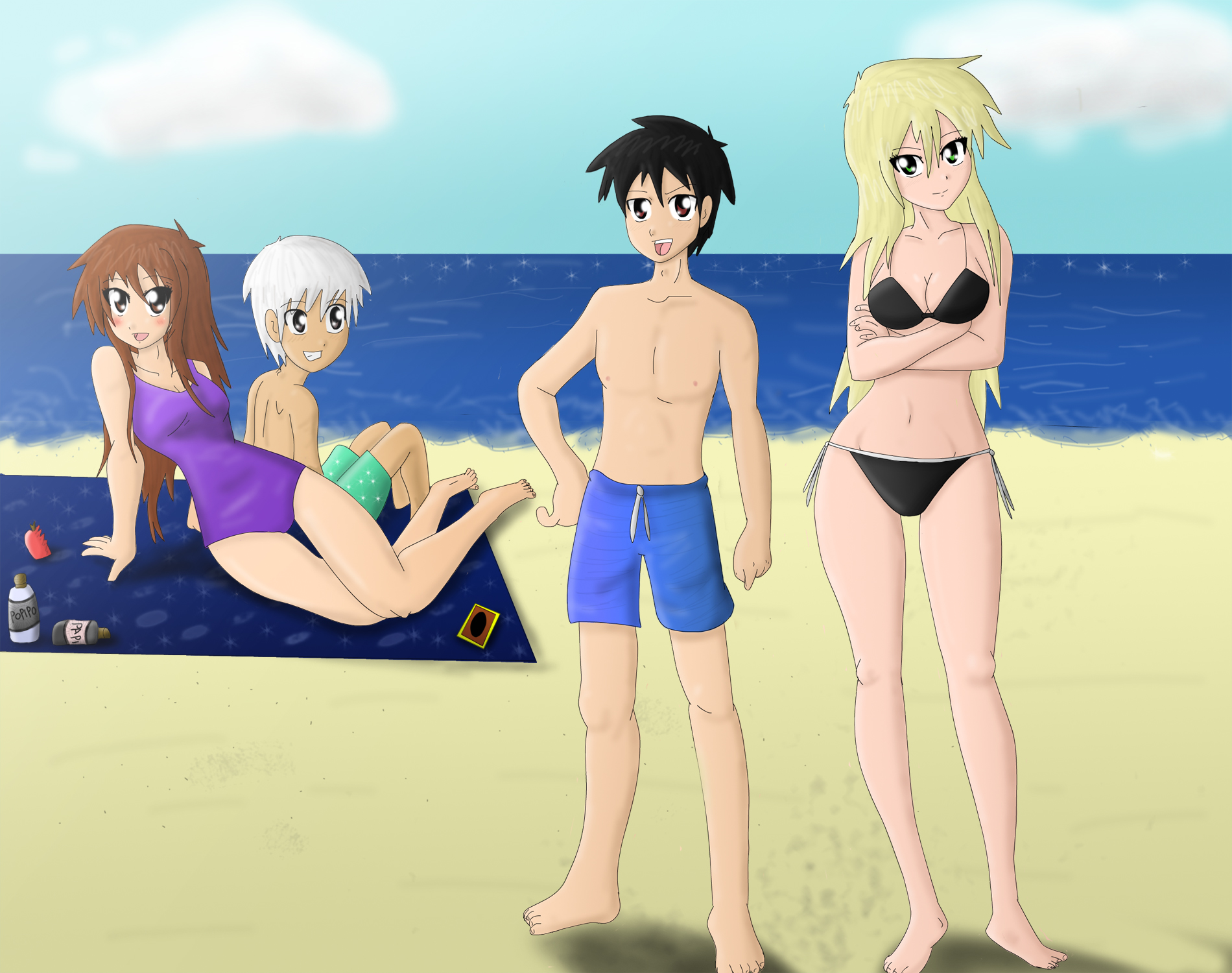 Beach Time by bocodamondo