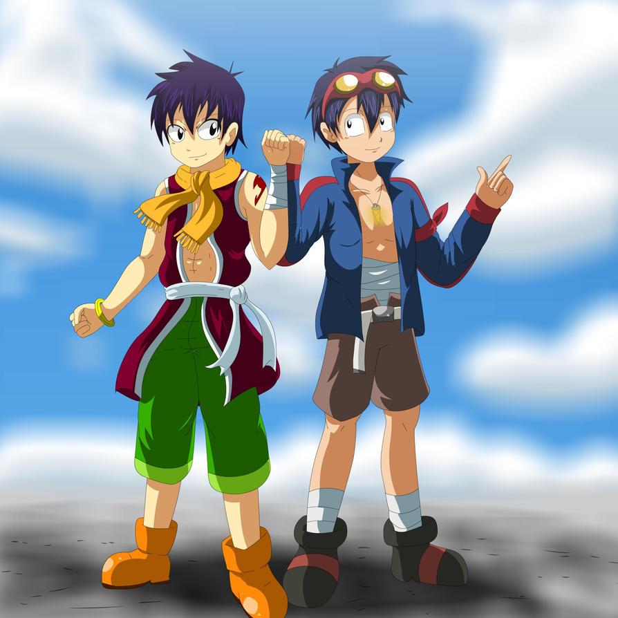 Fairy Tail Simon Simon and romeo by bocodamondo