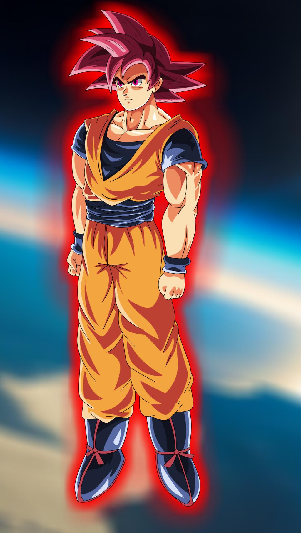 Super Saiyan God by bocodamondo