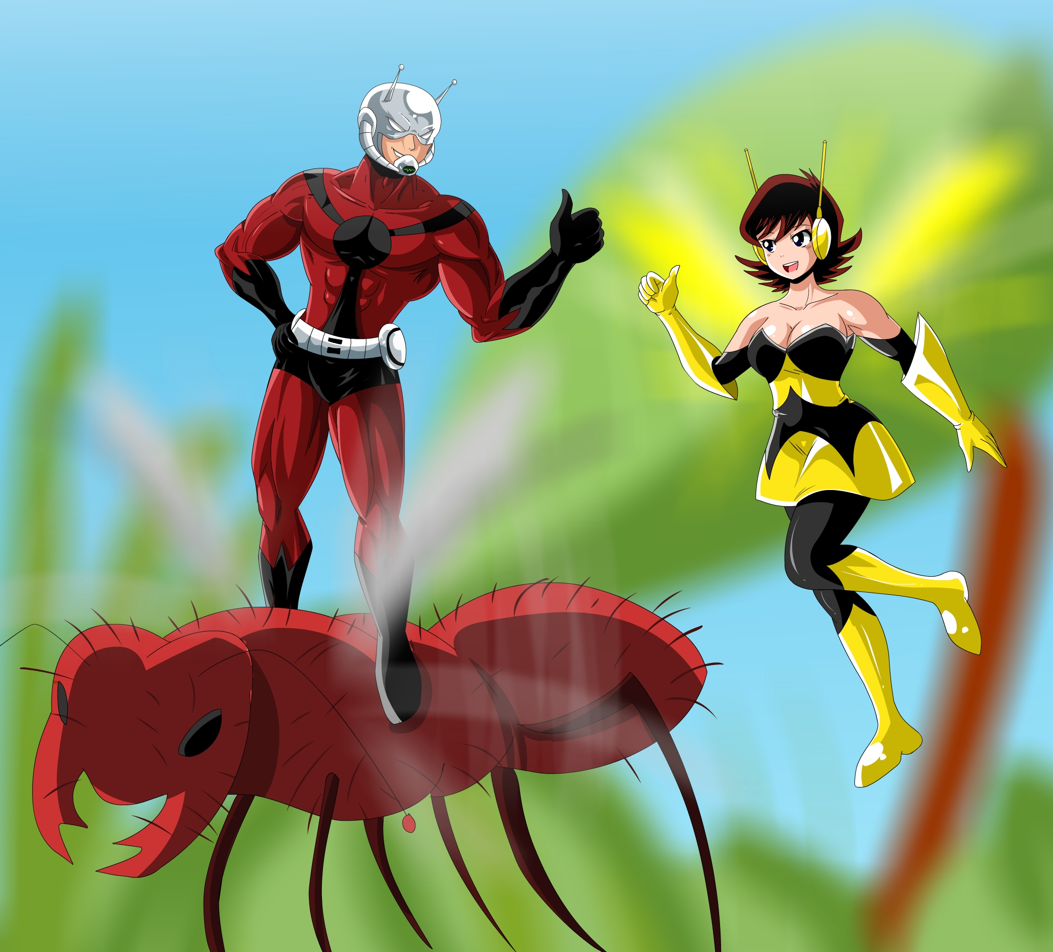 Antman and Wasp...