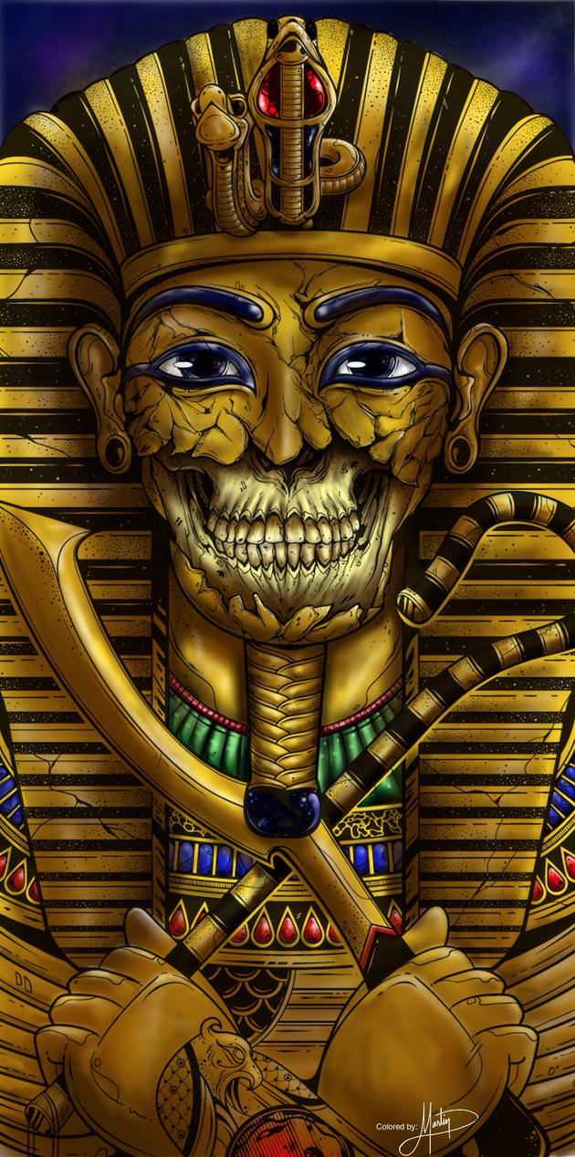 King Tut-colored (not my original) by Makavely247
