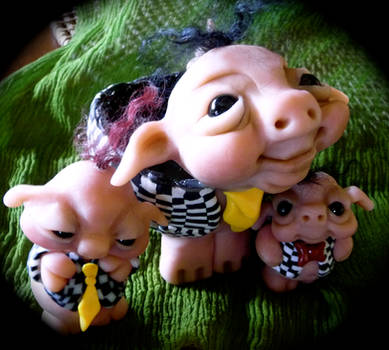 3 Little Pigs by Patteee