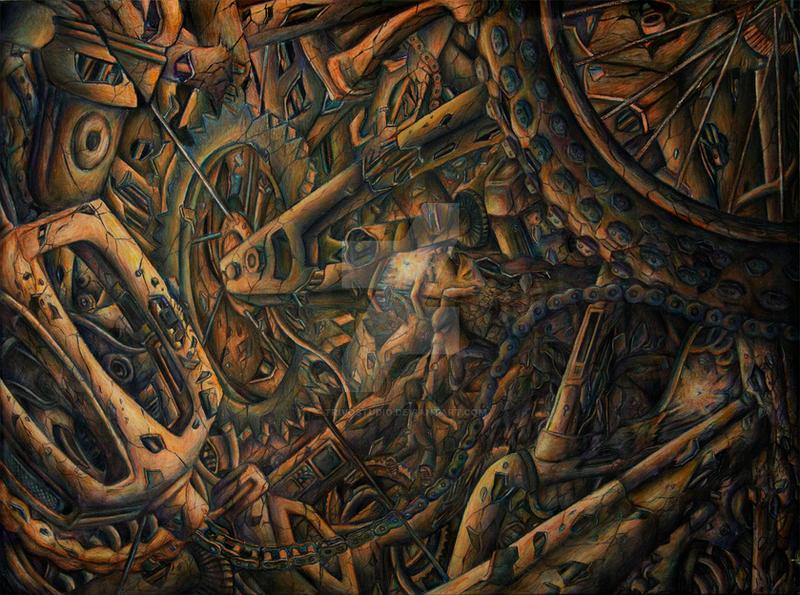 Destruction of the Mind by trivostudio