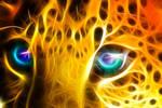 Fractal Leopard eyes