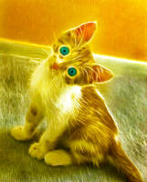 Fractal Cat 2 by debby-saurus
