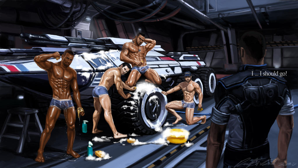 Mass Effect 3: Kaidan Gay Romance #15: Sex scene - YouTube
