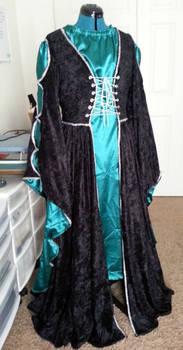 Medieval Velvet / Satin Gown