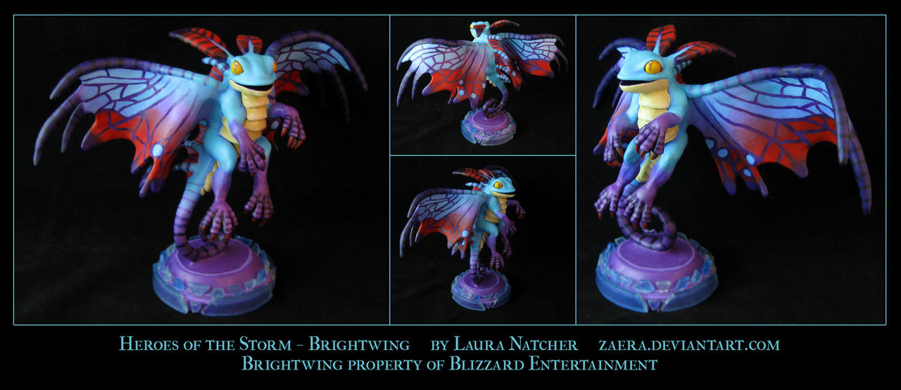 Heroes of the Storm - Brightwing by Zaera