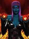 Kristinara in Hellgard  By Furbs3d