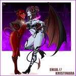 Enija vs Kristinara By Great Dude
