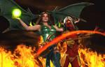 Demonic Battle: Morganna vs Akeldama