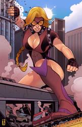 Gigawoman Rampage by RamArtwork