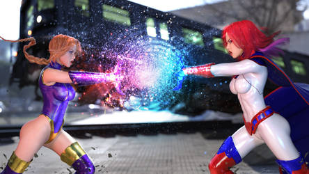 OC Versus Battle: Psionica Vs Zenith Woman by LordAmon12