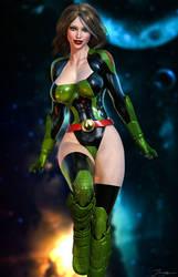 Hyperwoman/Future Chelsea Sawyer by LordAmon12