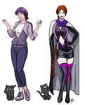 Cristina Fatima And Domme Huntress  With Nekki  By