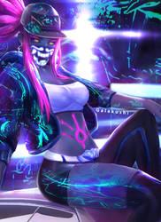 K/DA Akali Neon