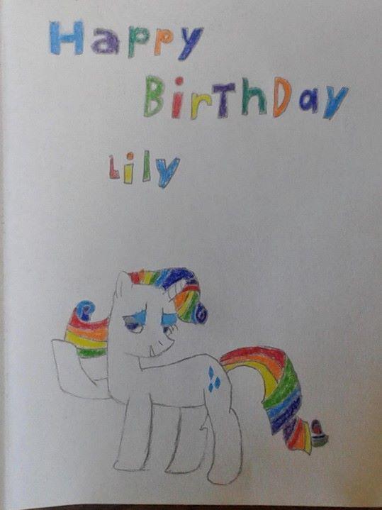 Happy birthday Lily by stoneificaunt on DeviantArt