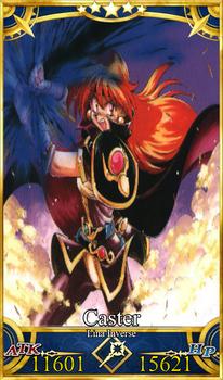 Fate Grand order card Lina Inverse