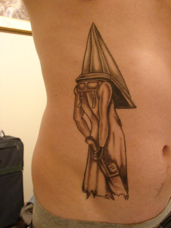 pyramid head sketch pictures to pin on pinterest tattooskid. Black Bedroom Furniture Sets. Home Design Ideas