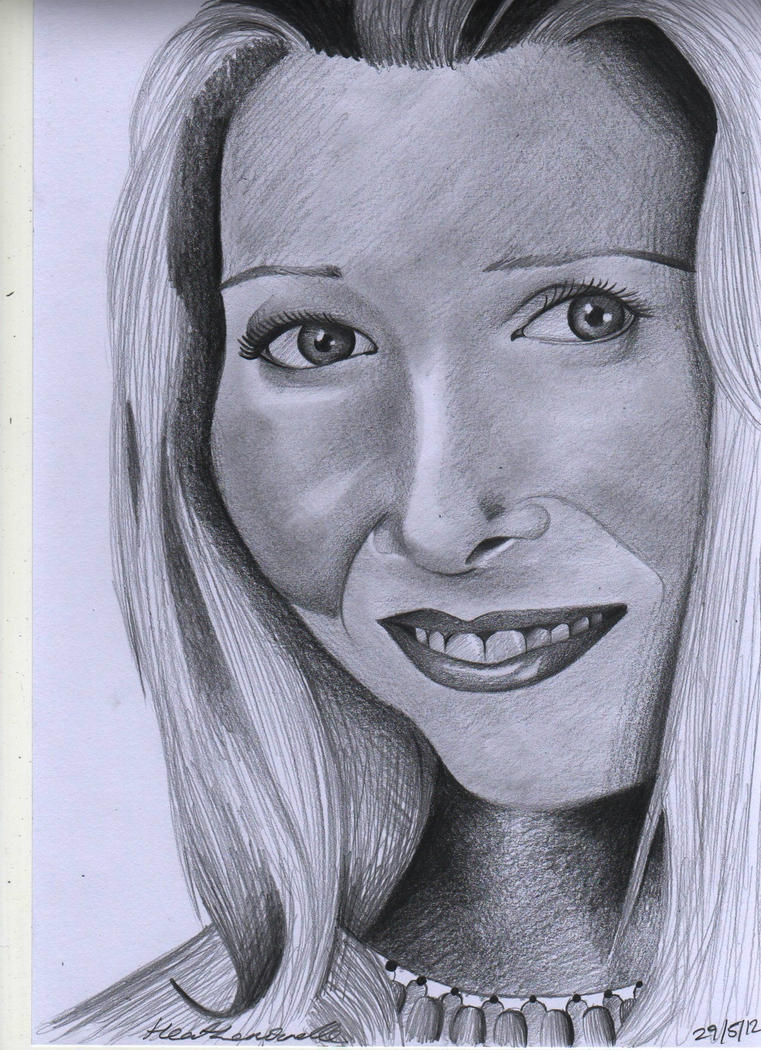 Lisa Kudrow-sketch 29.5.12 by heath23windle
