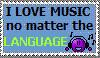 Love Music Stamp