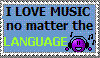 Love Music Stamp by Shinji-Sama