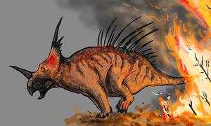 Day 6 - Styracosaurus canadensis