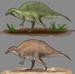 Day 16 - Spinosaurus aegypticus