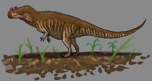 Therapods of North America:Ceratosaurus nasicornus