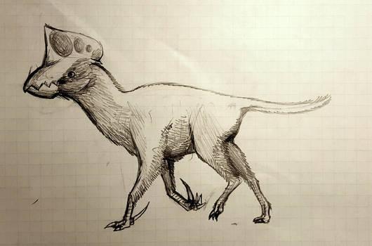 Wolf-like Neoazhdarchid