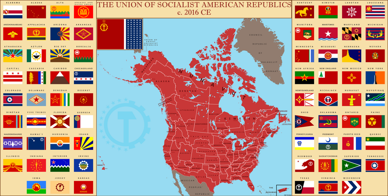 Union of Socialist American Republics by Thobewill