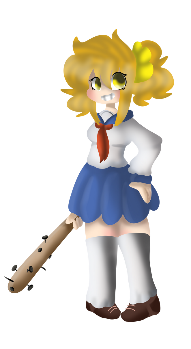 Popuko by Pugbrainey