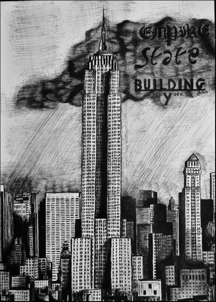 Empire State Building by SarvetEsiin