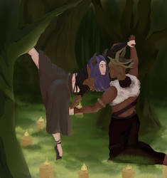 Dancing in the forest - Final