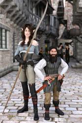 Elea and Murdok by mekheke
