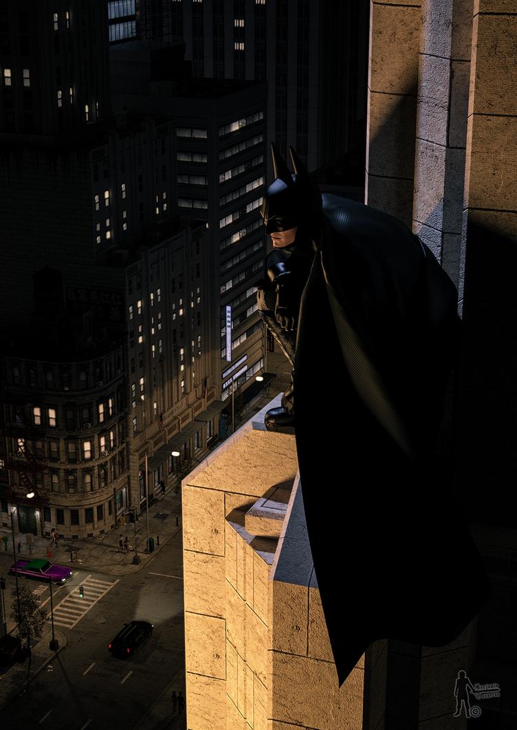 The Dark Knight Is Watching