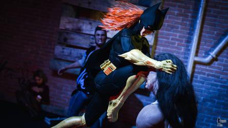 Batgirl - Teaching a lesson