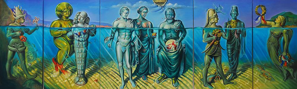 GODS VACATION ON AEGEAN COAST by GURDALKIRAN