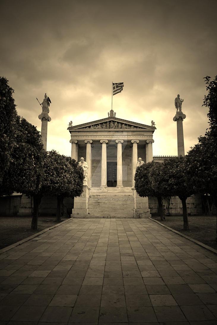 Athens Academy by MrSandmanGR