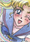Just Smile - ACEO no04 by unconventionalsenshi