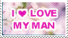 Love my man stamp by unconventionalsenshi